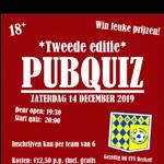 14 december: PubQuiz