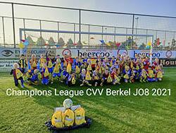 Finale Champions League bij JO8